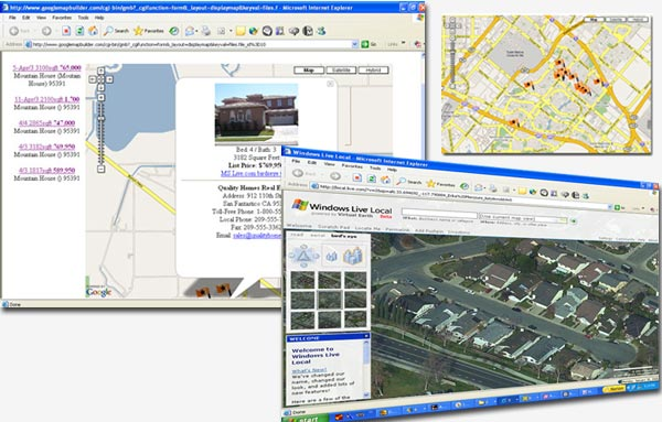SpreadsheetToMapcom The Easy Way To Make A Google Map - Map a list of addresses